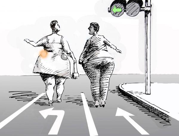 Карикатура: Трафик, osipovva