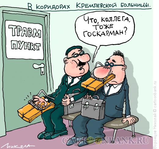 Карикатура: Госкарман, Воронцов Николай