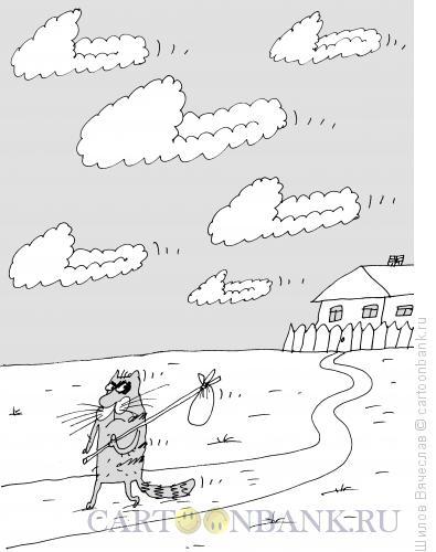 Карикатура: Тапки, Шилов Вячеслав