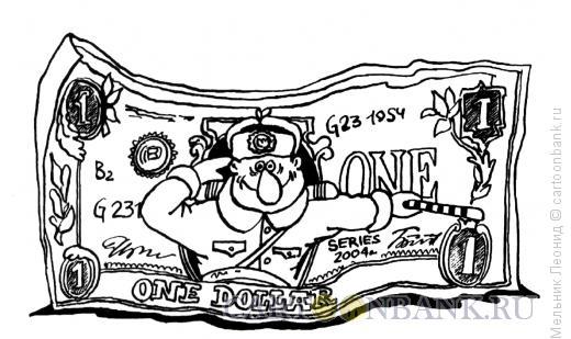 Карикатура: Разрешите представиться!, Мельник Леонид