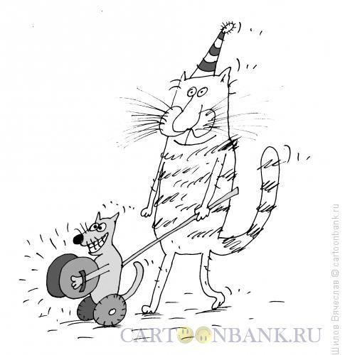 Карикатура: Литавры, Шилов Вячеслав