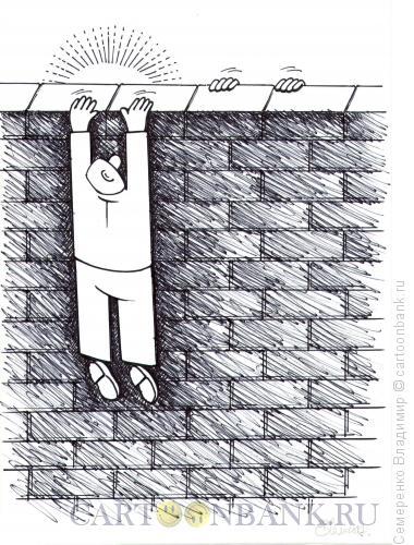 Карикатура: Любопытство, Семеренко Владимир