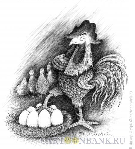 Карикатура: Орёл, Шинкар Игорь