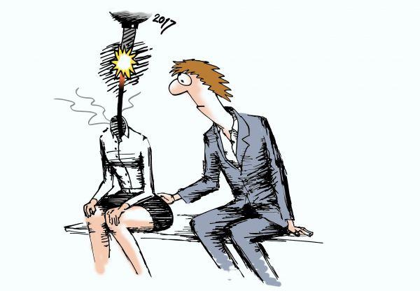 Карикатура: Harassment, osipovva