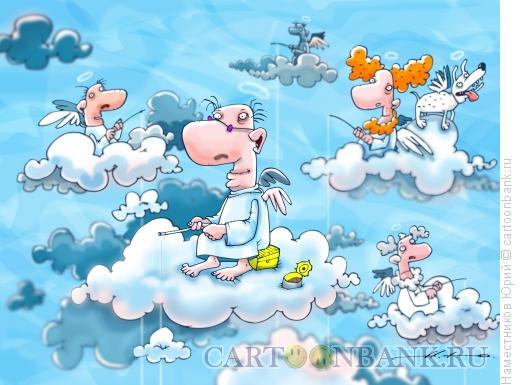 Карикатура: Клюёт., Наместников Юрий