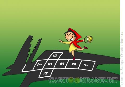 Карикатура: Любимая игра, Тарасенко Валерий