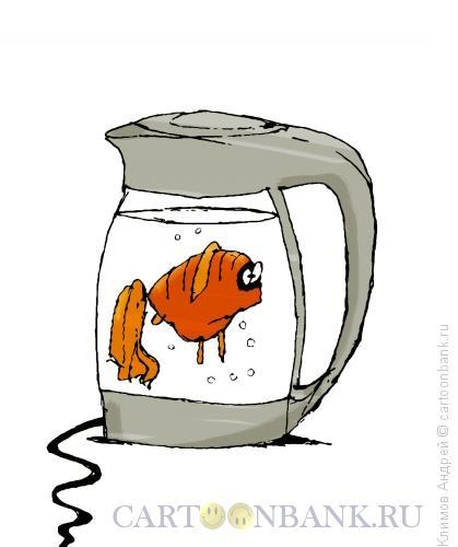 Карикатура: Чайник, Климов Андрей
