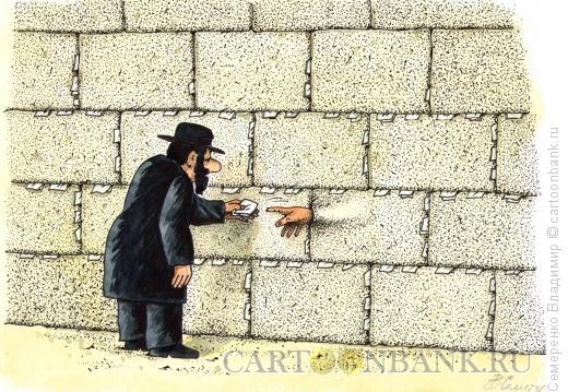 Карикатура: стена плача, Семеренко Владимир