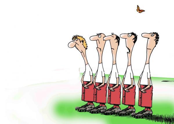 Карикатура: Живые кегли, osipovva