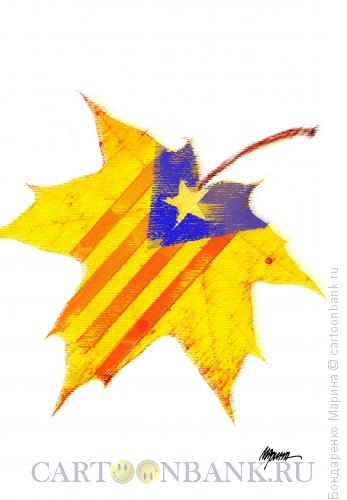 Карикатура: Лист Каталония, Бондаренко Марина