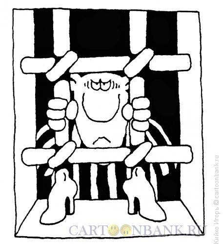 Карикатура: В застенках, Кийко Игорь