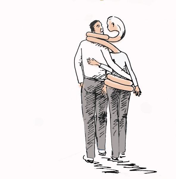 Карикатура: Путы желания, osipovva