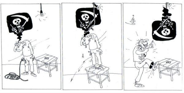 Карикатура: Лекарство от депрессии, Юрий Санников