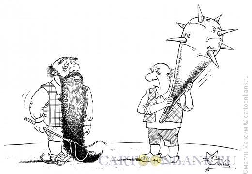 Карикатура: Булава, Смагин Максим