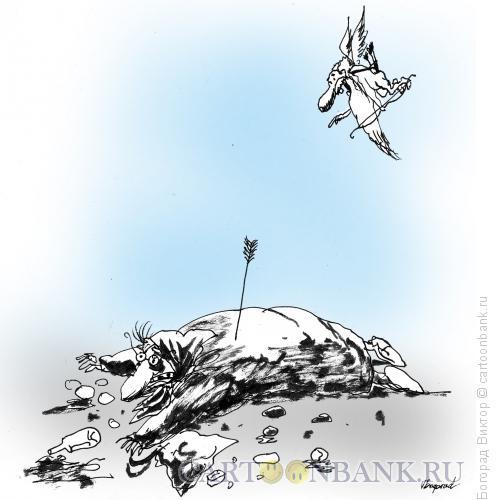 Карикатура: Старый Эрос, Богорад Виктор