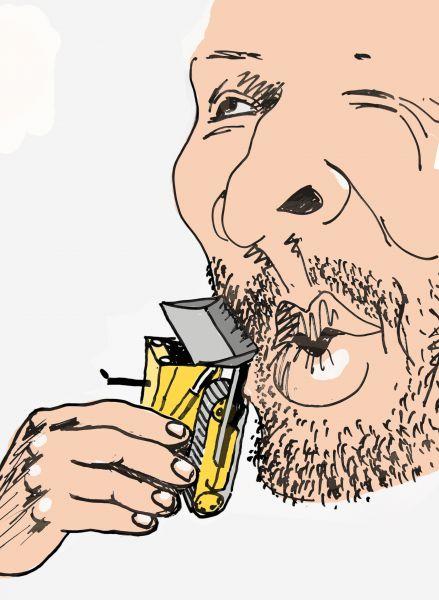 Карикатура: Утро тракториста, osipovva