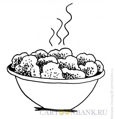 Карикатура: Картошечка, Мельник Леонид