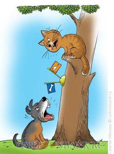 Карикатура: Переговоры, Смагин Максим