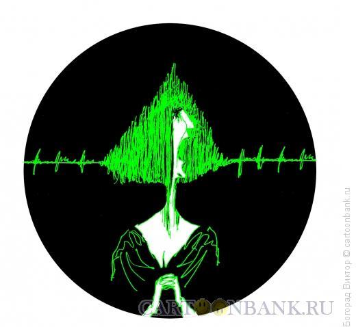Карикатура: Певица, Богорад Виктор