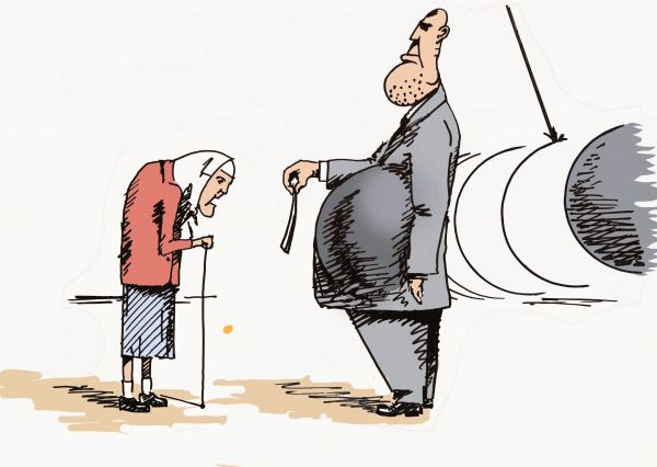 Карикатура: Реновация. Предложение от которого ...
