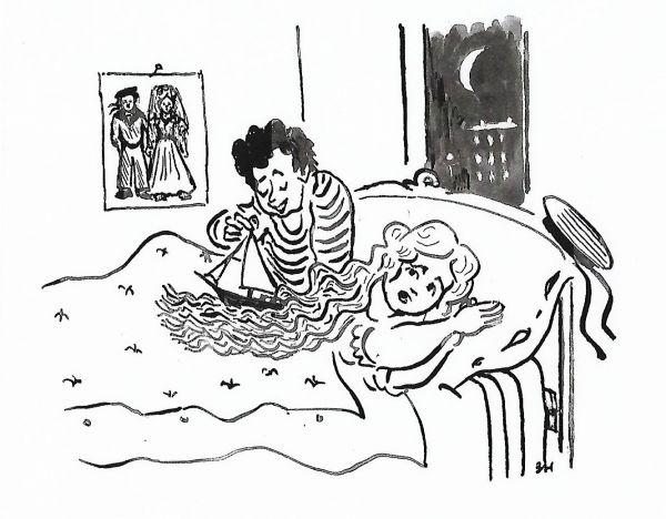 Карикатура: Молодо-зелено, Зеркаль Николай Фомич
