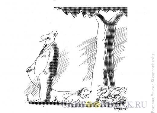 Карикатура: Стукач, Богорад Виктор