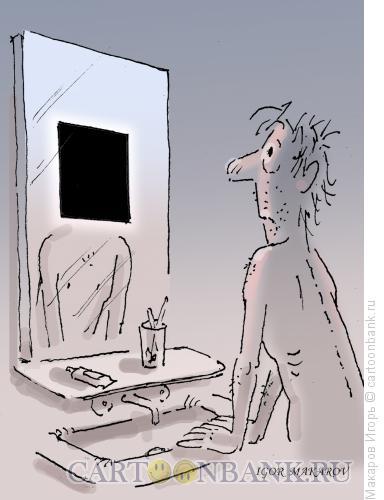 Карикатура: черный квадрат 6, Макаров Игорь