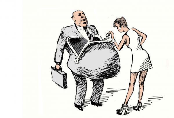 Карикатура: вот я и дома