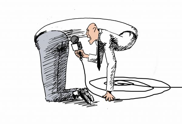 Карикатура: как делается Fake news, osipovva