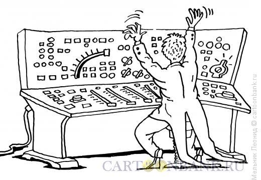 Карикатура: Виртуоз, Мельник Леонид