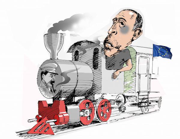Карикатура: В Европу со Сванидзе, osipovva