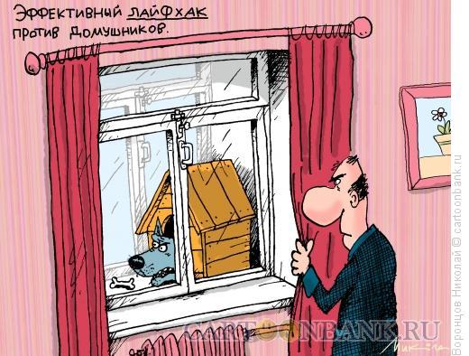 Карикатура: Лайфхак, Воронцов Николай
