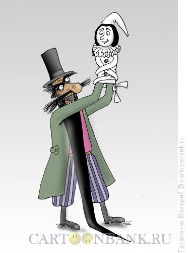 Карикатура: Сумасшедствие, Тарасенко Валерий