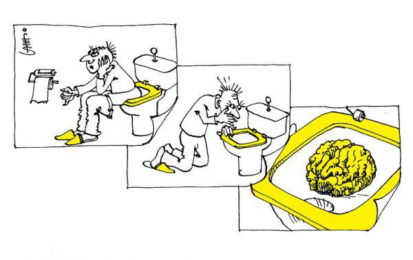 Карикатура: Не может быть, Юрий Санников