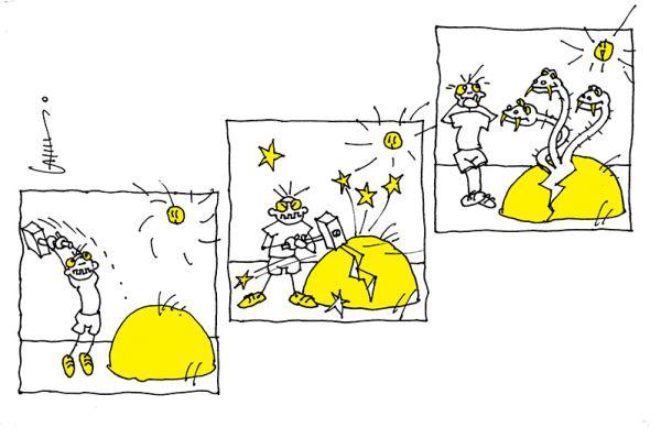 Карикатура: Хотите — верьте, хотите — нет…, Юрий Санников