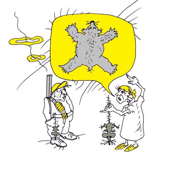 Карикатура: Обманутые надежды, Юрий Санников