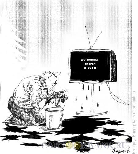 Карикатура: До новых встреч в 2011, Богорад Виктор
