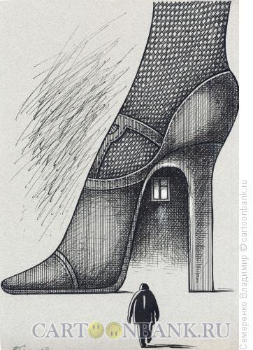 Карикатура: Возвращение, Семеренко Владимир