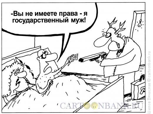 Карикатура: Государственный муж, Шилов Вячеслав