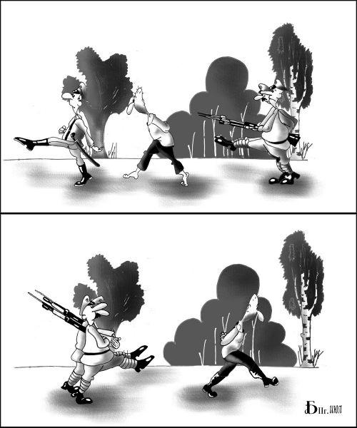 Карикатура: Про растрел