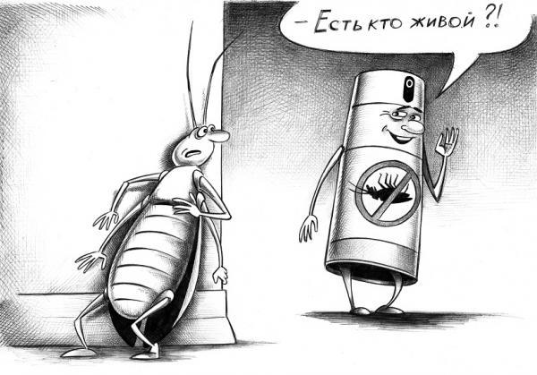 Карикатура: Есть кто живой?, Сергей Корсун