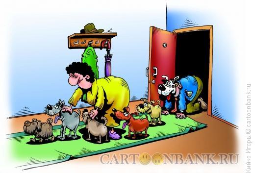 Карикатура: Ласка, Кийко Игорь