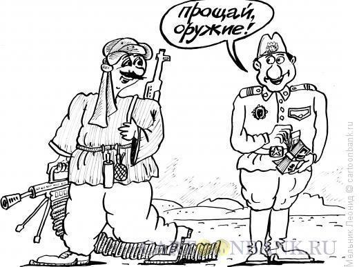 Карикатура: Сделка, Мельник Леонид