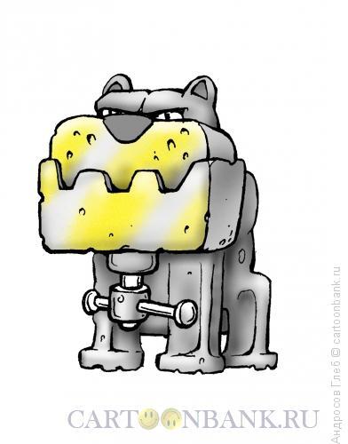 Карикатура: Стальная хватка, Андросов Глеб