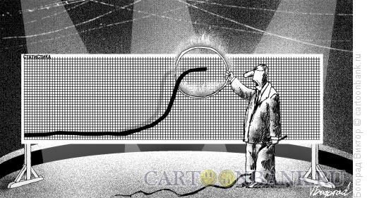 Карикатура: Дрессировщик графиков, Богорад Виктор