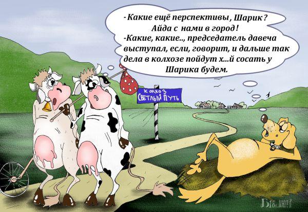 Карикатура: Про перспективы