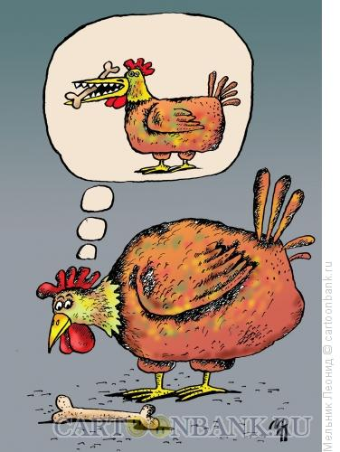 Карикатура: Зубки, Мельник Леонид