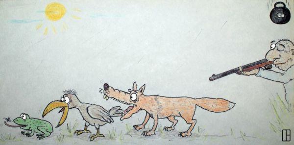 Карикатура: Такова жизнь..., Олег Тамбовцев