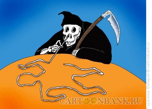 Карикатура: Наркодилер, Тарасенко Валерий