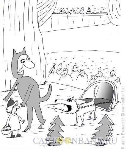 Карикатура: Суфлер, Шилов Вячеслав